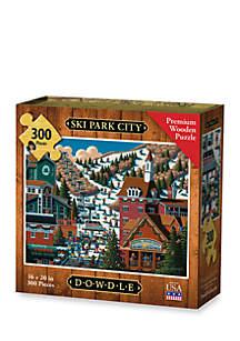DOWDLE PUZZLES Ski Park City Puzzle