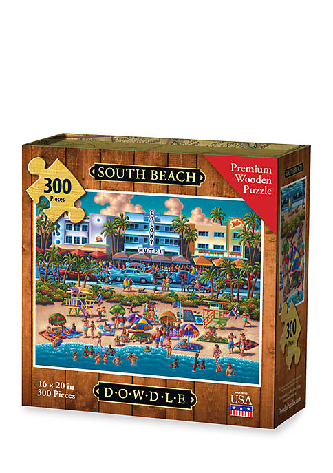DOWDLE PUZZLES South Beach Puzzle