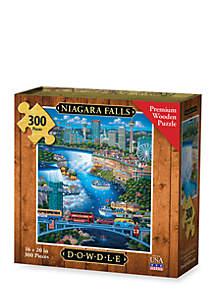DOWDLE PUZZLES Niagara Falls Puzzle