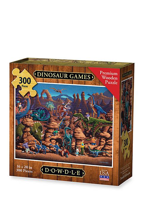 DOWDLE PUZZLES Dinosaur Games Puzzle