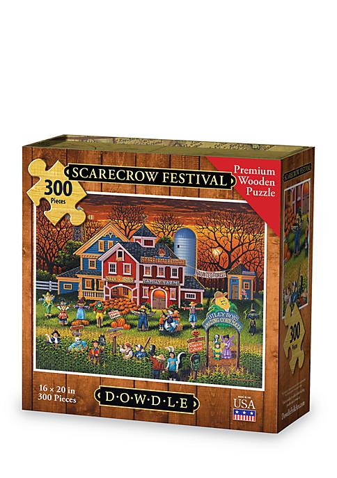 DOWDLE PUZZLES Scarecrow Festival Puzzle