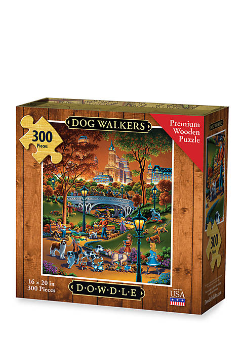 DOWDLE PUZZLES Dog Walkers Puzzle