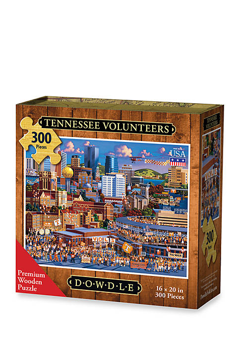DOWDLE PUZZLES Tennessee Volunteers Puzzle