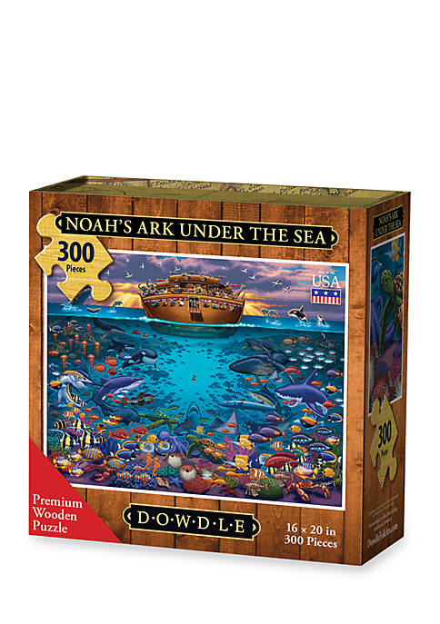 DOWDLE PUZZLES Noahs Ark Under the Sea Puzzle
