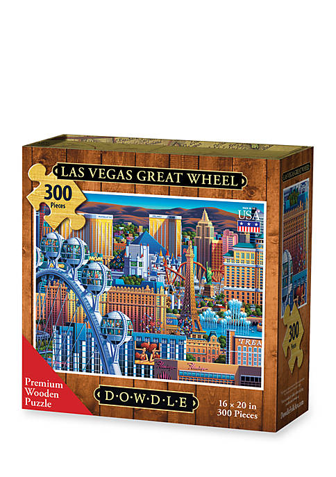 DOWDLE PUZZLES Las Vegas Great Wheel Puzzle