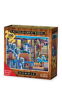 DOWDLE PUZZLES Las Vegas Great Wheel Puzzle