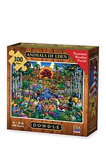 DOWDLE PUZZLES Animals of Eden Puzzle