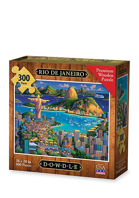 DOWDLE PUZZLES Rio De Janeiro Puzzle