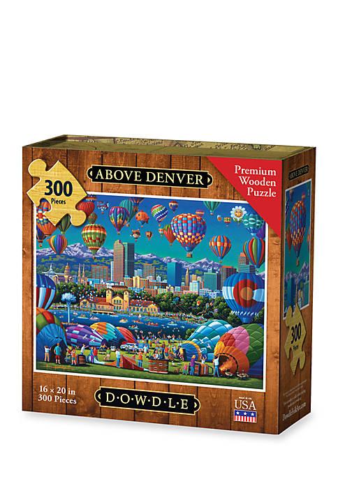 Above Denver - 300 pc Premium Laser Cut Wood Puzzle
