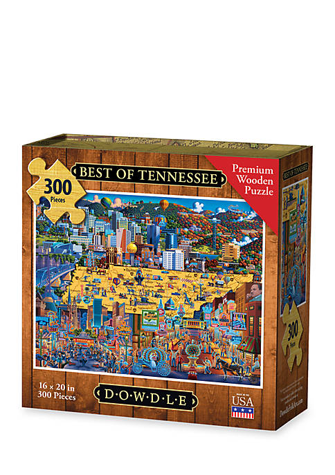 DOWDLE PUZZLES Best of Tennessee Puzzle