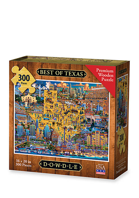 DOWDLE PUZZLES Best of Texas Puzzle