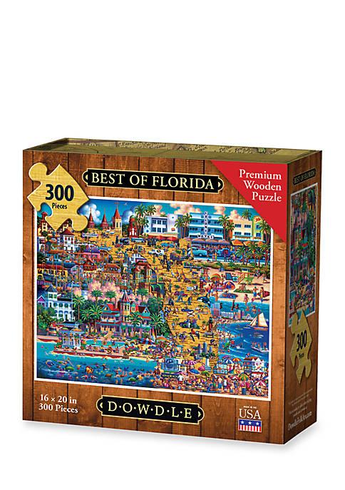 DOWDLE PUZZLES Best of Florida Puzzle