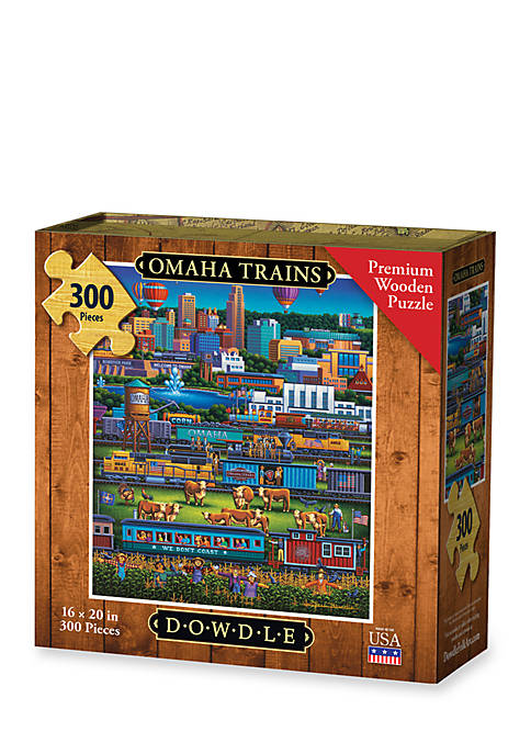Omaha Trains Puzzle