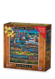 DOWDLE PUZZLES Omaha Trains Puzzle