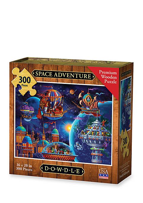 DOWDLE PUZZLES Space Adventure Puzzle