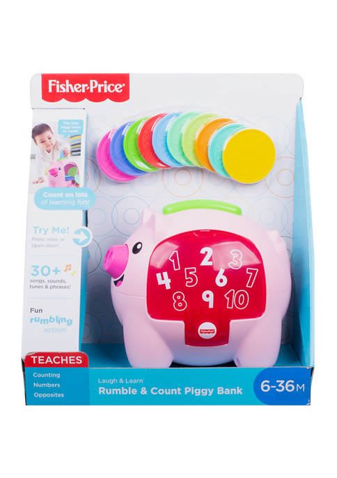 Laugh & Learn™ Count & Rumble Piggy Bank