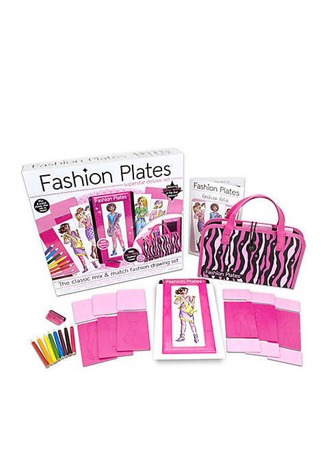 Kahootz Fashion Plates Super Star Deluxe Kit
