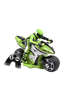 Kid Galaxy RC Kawasaki Ninja Green 27 Mhz
