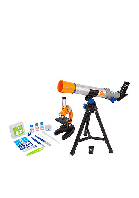 Discovery Kids Discovery 40mm/900x Telescope and Microscope Set