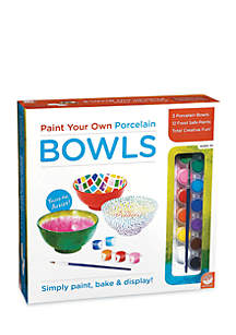 Mindware Paint Your Own Porcelain Bowls