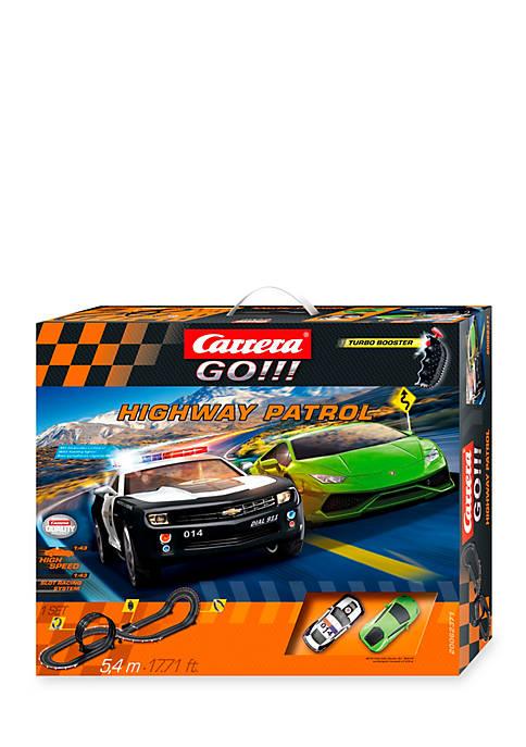 Carrera GO!!! Highway Patrol 1/43 analog slot car race set ...