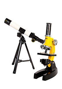 Explore Scientific Telescope Microscope Discovery Set
