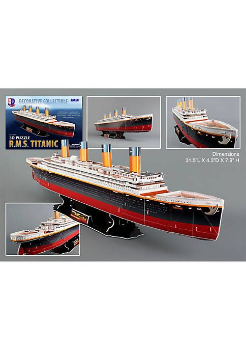 Daron Titanic 3D Puzzle- 153 Pieces