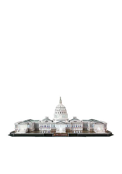Daron US Capitol Building LED 3D Puzzle