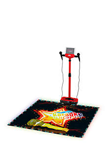 Spectra Karaoke Machine with Lighted Stage Mat