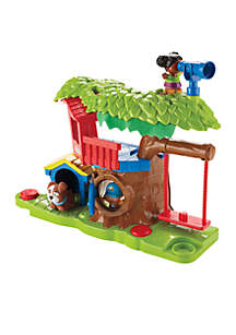 Little People Swing And Share Tree House Set
