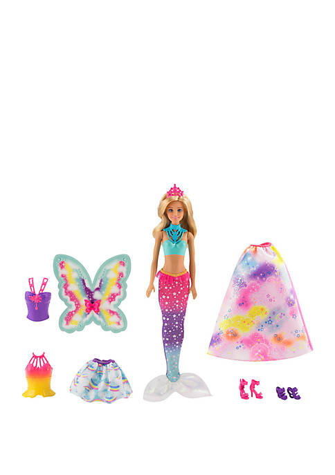 Mattel Barbie™ Dreamtopia Doll with 3 Fairytale Costumes