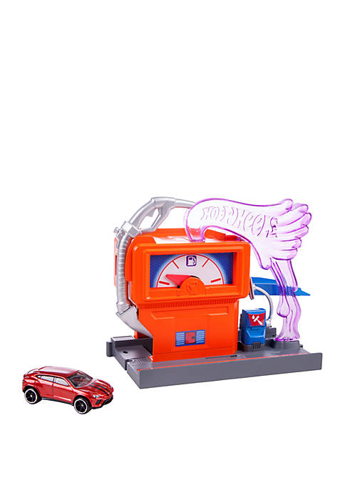 City Downtown Super Fuel Stop Play Set