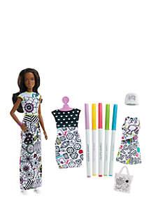 Barbie® Crayola® Color-In Fashion Doll