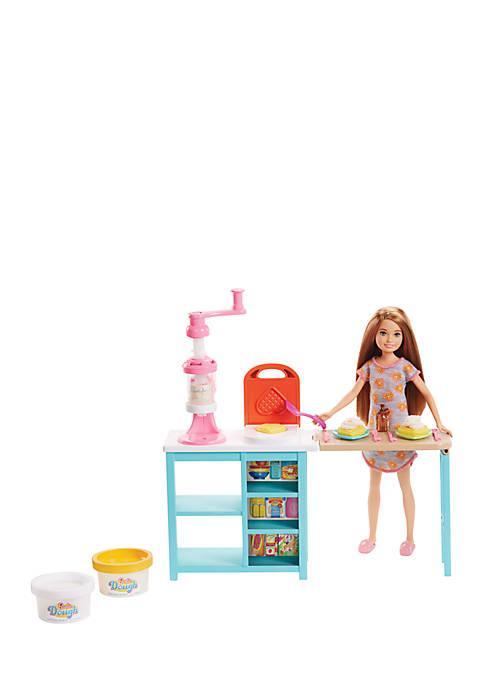 Mattel Barbie Breakfast Playset with Stacie Doll