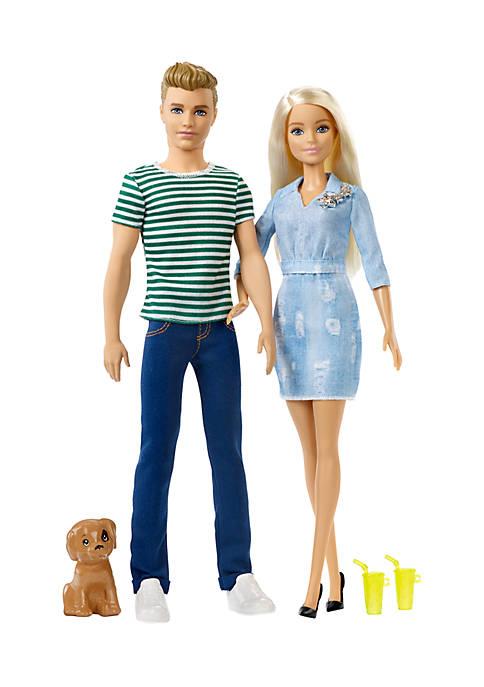 Mattel Barbie® and Ken™ 2-Pack Gift Set