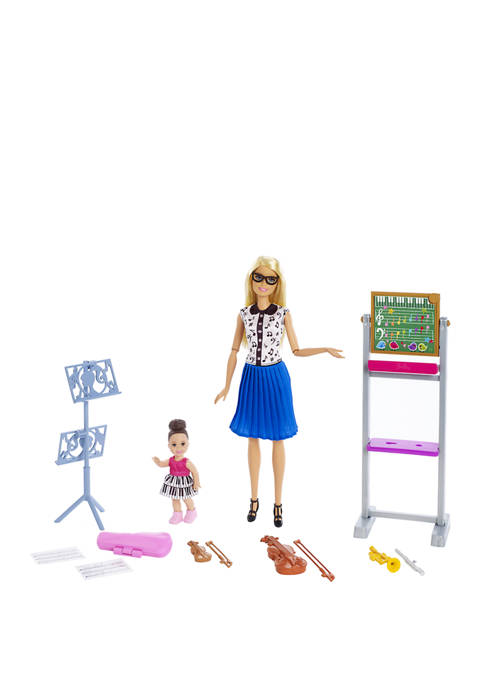 Music Teacher Doll and Playset