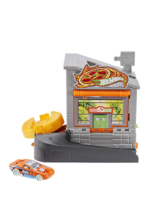 Hot Wheels City Downtown Pizza Toss Playset