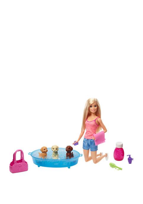 Barbie Puppy Bath Time
