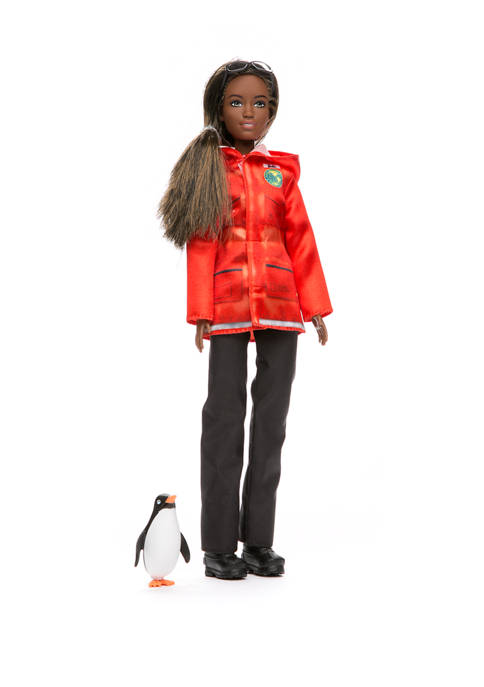 You Can Be Anything: Polar Marine Biologist Doll Set