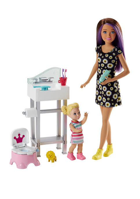 Barbie Skipper™ Babysitter Doll & Playset