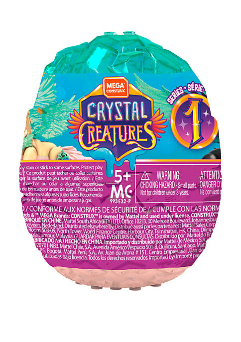 Mega Construx Crystal Creatures Mystery Blind Pack