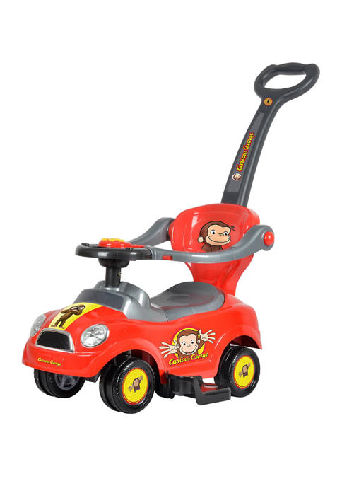 Best Ride On Cars Curious George 3 in
