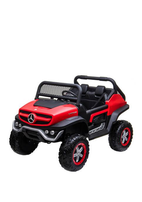 Mercedes Unimog in Red