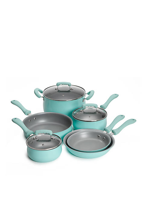 Crown & Ivy™ 9-Piece Non Stick Cookware Set