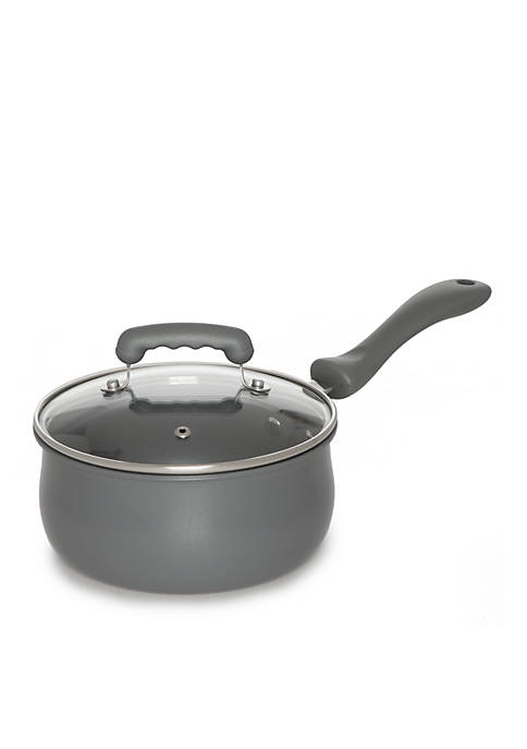 Crown & Ivy™ 2.2 Qt. Covered Saucepan