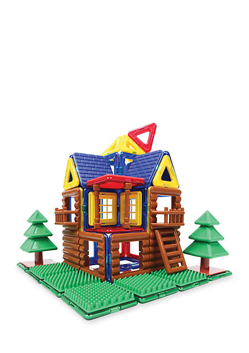 Log Cabin 87 Piece Set