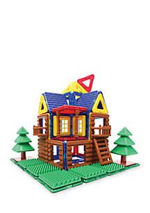 Log Cabin 87 Piece Set