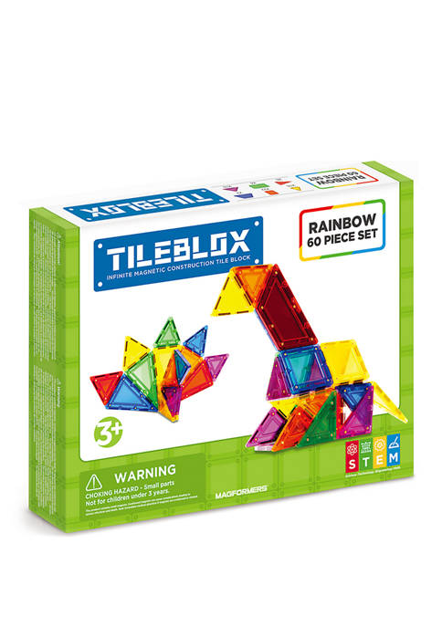 Tilebox Rainbow 60 Piece Set