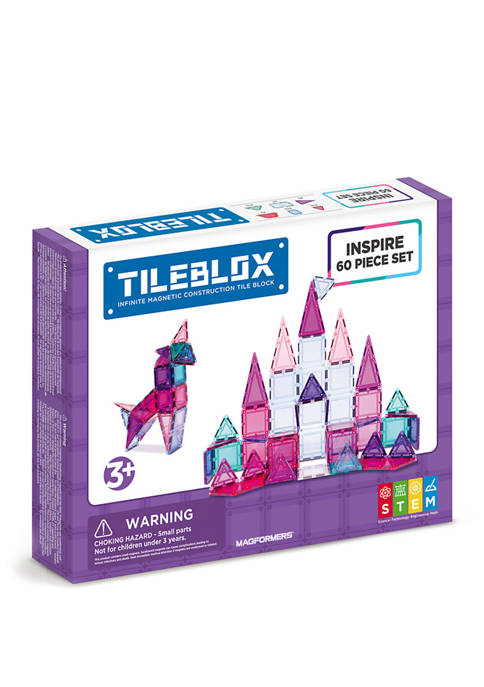Magformers Tilebox Inspire 60 Piece Set