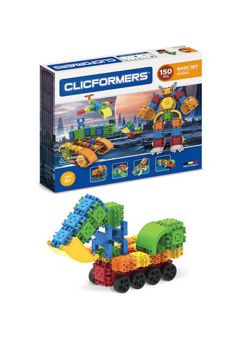 Clicformers Basic 150 Piece Set